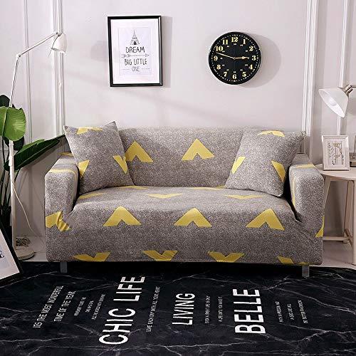 WXQY Funda de sofá con Todo Incluido, Funda de sofá elástica para Sala de Estar, Funda de sofá para sillón, Funda de protección para Muebles, Funda de sofá A25, 4 plazas