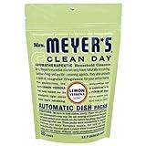 Mrs. Meyer's - Il Piatto Automatico da Giorno Pulito imballa 20 la Verbena del Limone dei carichi - 12.7 Once