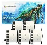 Printing Pleasure Rollos de etiquetas compatibles Brother DK-22205 para impresora térmica GP-1324D y P-Touch QL-500 550 570 700 720NW 800 810W 1110NWB | 5 rollos