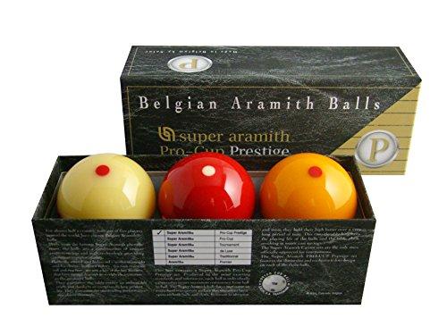 Aramith Carom PRO-Cup Prestige Super 1410.09 - Juego de bolas de discoteca (61,5 mm)