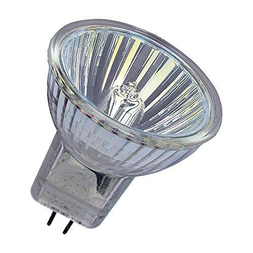 Osram DecoStar Halogen-Reflektor, GU4-Sockel, dimmbar, 12 Volt, 35 Watt, 36 ° Abstrahlungswinkel, Warmweiß