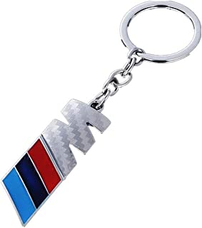 American shop g Keychain for M Keyring Key Chain Ring Fob Carbon Fiber Keychain for X3 X5 X6 GT E46 E90 E39 E60 E82 Business Gift Birthday Present for Men and Woman