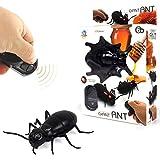 Niedliches Insektenspielzeug Tricky Toy Fernbedienung Simulation Ameise Kakerlake Spinne Spielzeug Geschenk for Kinder Jubiläumsparty Für das Geschenk der Kinder (Color : EIN) -