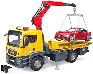 Bruder MAN TGS Tow Truck with roadster and L&S module
