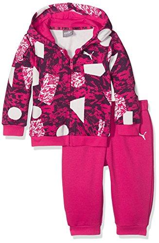 PUMA Minicats Survêtement à capuche Enfant Dark Purple/Pdg44344 FR : XS (Taille Fabricant : 62)