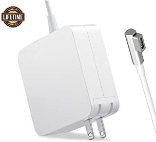 Compatible with Mac Book Air Charger, AC 45W Magsafe 1 L-Tip Power Adapter Replacement Charger Compatible with Mac Book Air 11/13 inch (Before Mid 2012)