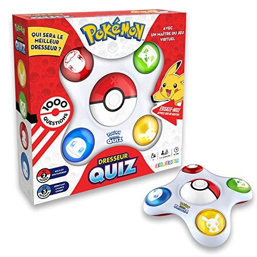 Bandai- Pokémon-Dressor Quiz Interaktives elektronisches Spiel Französisch ZZ20110