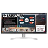LG 29WK600-W 29' UltraWide 21:9 WFHD (2560 x 1080) IPS Monitor with HDR10 and FreeSync, Black