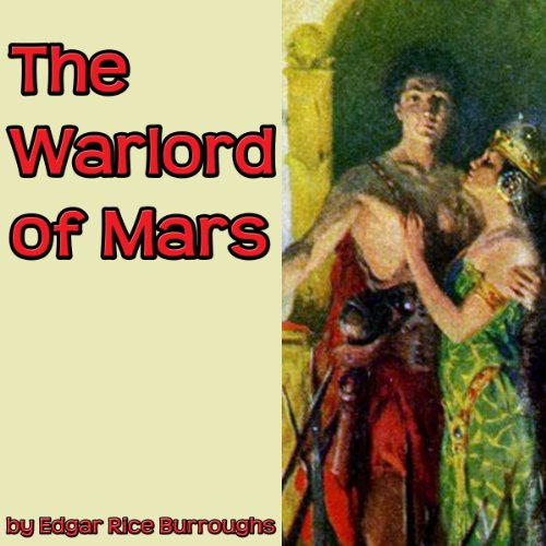 The Warlord of Mars audiobook cover art