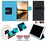reboon Hülle für Huawei MediaPad M2 8.0 Tablet Tasche Cover Case Bumper | in Schwarz | Testsieger