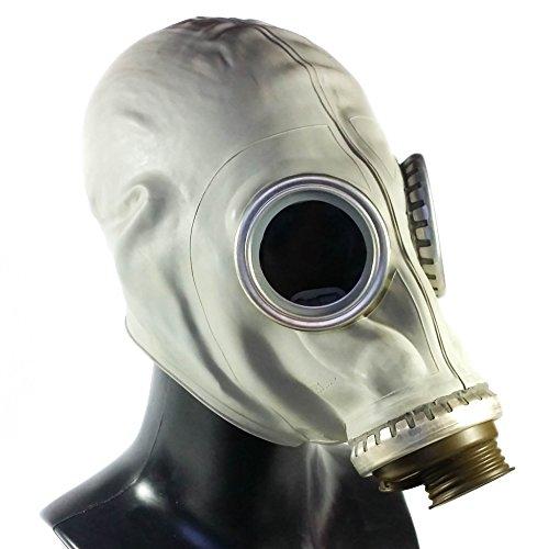Militar Reproduktion der sowjetischen russischen Gasmaske, Originale Atemschutzmaske, Nachbildung - XL