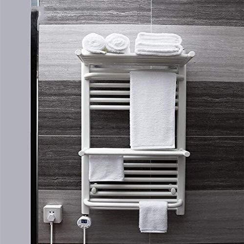 LHQ-QG Montage mural serviette électrique chaud, et Câblé Branchez Options, 304 serviette en acier inoxydable blanc sèche-400W