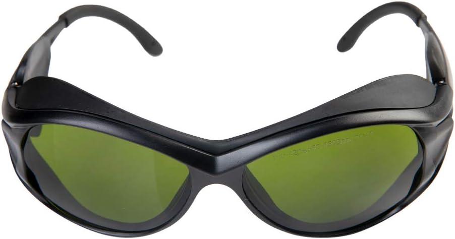 Cloudray Gafas de seguridad láser 1064nm 850-1300nm OD4 + CE Gafas protectoras para láser de fibra (Estilo A)