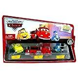 Mattel Disney / Pixar CARS Movie 1:55 Die Cast Story Tellers Collection 3-Pack Luigi, Rojo y Guido