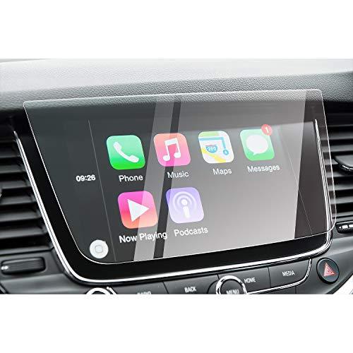 CDEFG para Opel Astra Crossland X Grandland X 2017 2018 Protector de Pantalla de Vidrio Templado, HD Auto 9H GPS Navi película protegida Glass