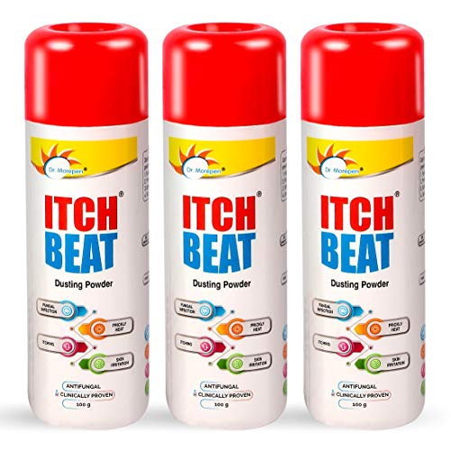 DR. MOREPEN Antifungal Dusting Itch Powder (Pack of 3)