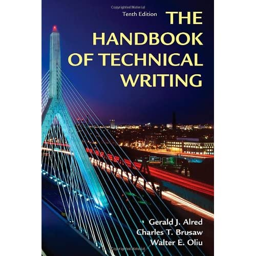 handbook of technical writing 12th edition pdf
