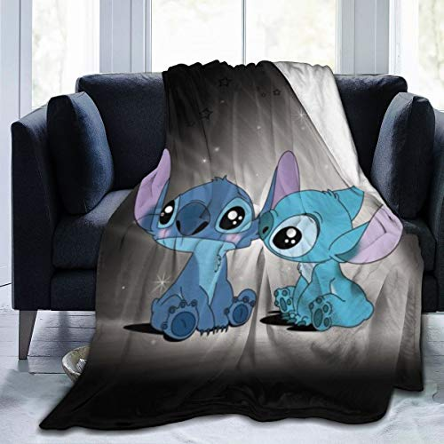 Lilo Stitch Blanket Oversized Warm Adult Super Soft Blanket...