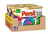 Persil Color 4 in 1 DISCS, 104 (2 x 52) Waschladungen, Persil-Waschmittelkapseln mit Tiefenrein-Plus...