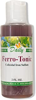 Daily Manufacturing Ferro-Tonic (Colloidal Iron Sulfate) 2 Fl. Oz.
