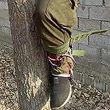 Ramponi da Arrampicata, Scarpe da Arrampicata in Acciaio Inossidabile per Alberi da Arrampicata