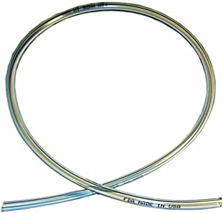 ATP Vinyl-Flex PVC Food Grade Plastic Tubing, Clear, 1/2