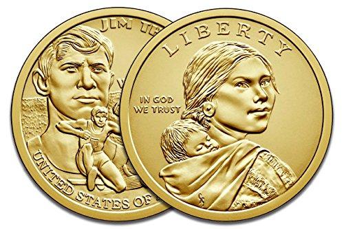 2018 P & D Sacagawea Dollar Native American Brilliant Uncirculated