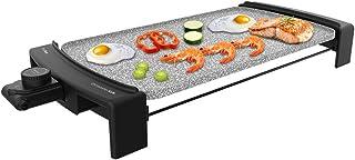 Cecotec Plancha Électrique Tasty & Grill 3000 RockWate. 2600 W, Revêtement en pierre RockStone, Résistance en forme de E, ...