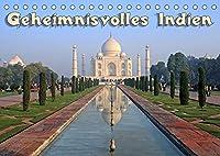 Geheimnisvolles Indien (Tischkalender 2022 DIN A5 quer): Indien, geheimnisvolle Tempel (Monatskalender, 14 Seiten )