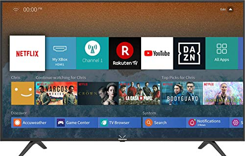 Hisense H65BE7000 - Smart TV 65' con Alexa Integrada, 4K Ultra HD, 3 HDMI, 2...