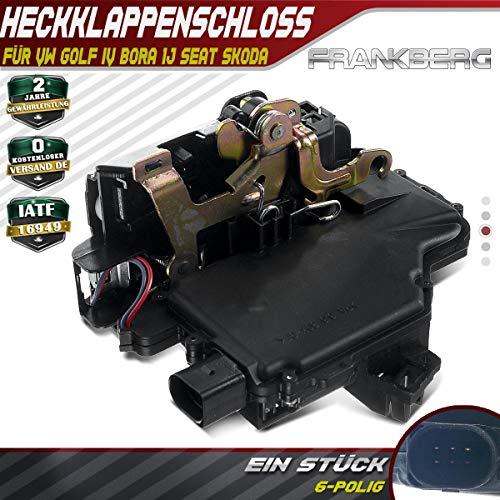 Stellmotor Zentralverriegelung Hinten Rechts für Bora 1J Passat 3B Golf IV 1J Leon Toledo II 1M Superb I 3U 1997-2008 3B4839016AL