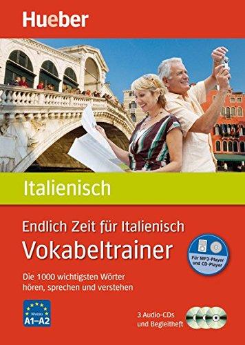 Endlich Zeit für Italienisch – Vokabeltrainer: Die 1.000 wichtigsten Wörter hören, sprechen und verstehen / Paket (Endlich Zeit für Vokabeltrainer)