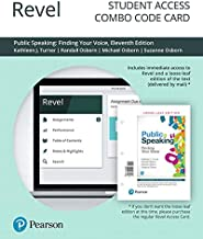Revel for Public Speaking: Finding Your Voice -- Combo Access Card (11th Edition)