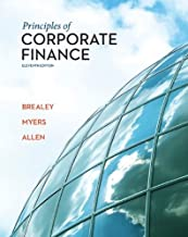 By Richard Brealey Principles of Corporate Finance with Connect Plus (11th Edition)