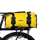 Rhinowalk 自転車 キャリアバッグ 荷台バッグ パニアバッグ リアバッグ サイドバッグ ボストンバッグ 旅行バッグ サイクリングバッグ 防水 大容量