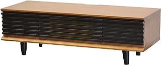 ライフスタイリングショップ ローボード テレビ台 幅110cm 13~32型対応 木製 チェリー ストライプ AN-131