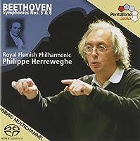 Beethoven: Symphonies Nos. 5 & 8 by LUDWIG VAN BEETHOVEN (2007-11-20)
