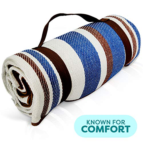 Scuddles Picnic Outdoor Blanket Park Blanket Beach Mat for Camping on Grass Oversized Seats Adults...