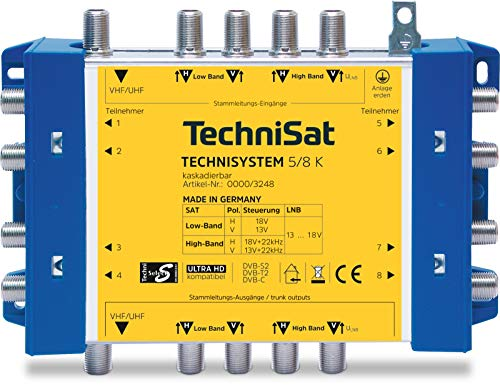 TechniSat TechniSystem 5/8 K Multischalter Kaskade