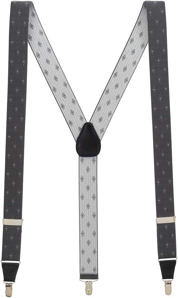 Our shop OFFers the best Cheap super special price service Men's Jacquard Woven Diamond - Suspenders CLIP