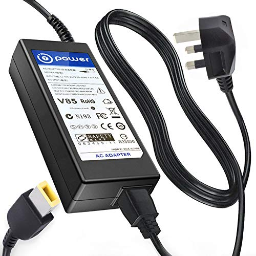 T POWER (65W Ac Dc Adapter Charger Compatible with Lenovo IdeaCentre ThinkCentre C260 C350 C360 C460 C470 C560 510 520 M53-M73-M93p All-in-One PC Tiny Desktop AIO