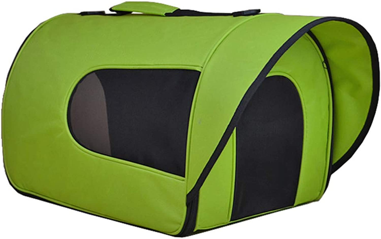 Aida Bz Pet Out Portable Dog Bag Cat Bag Sun Visor Breathable Pet Fashion One Shoulder Handcuffs Backpack Teddy Pet Dog Bag,B