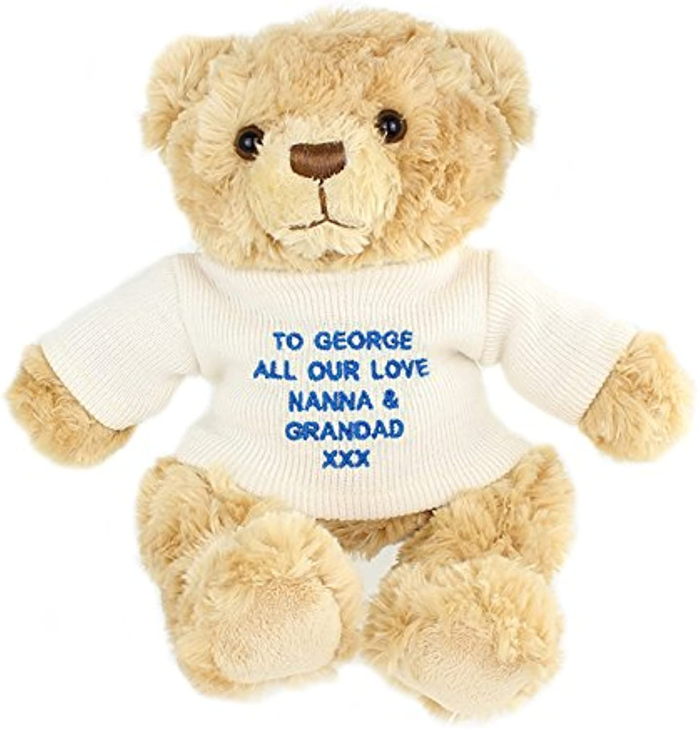 Boys Tatty Teddy message bear Blau Gifts, and, Cards Christmas, Gift, Idea Teddies Personalised B00J5I6RZA Sofortige Lieferung | Qualität zuerst