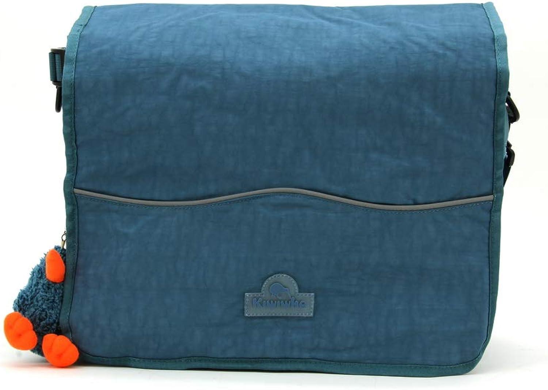 Kiwiwho 3974 Messenger Bag, Multi Colour, 35 Centimeters