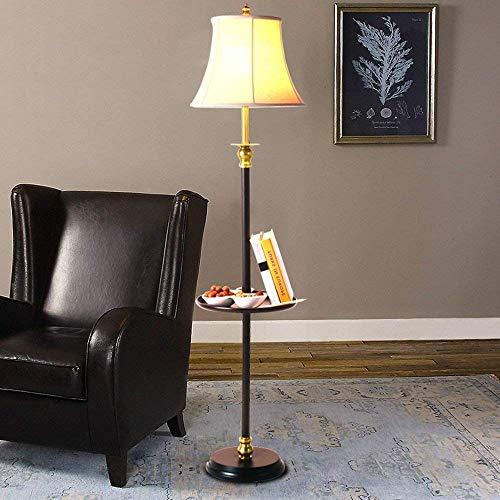 Meerdere scènes staande lamp, dienblad plank, schaduw, voetschakelaar, bank, salontafel, Nordic lampen, lamp inbegrepen, decoratie, staande lamp, B-D