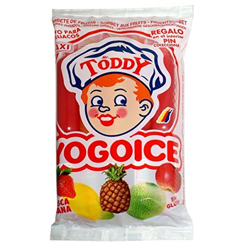 Yogo Ice 16 Packungen a 10 a 45ml Gesamt 7,2L Joghurt Gefrierzubereitung