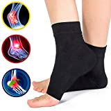 Ankle Brace Compression Support Sleeve- Pain Relief Ankle Swelling, Achilles Tendonitis, Heel Spurs,Plantar Fasciitis and Ankle Sprained,Ankle Braces Compression Socks for Women and Men Kids(1 Pair) L