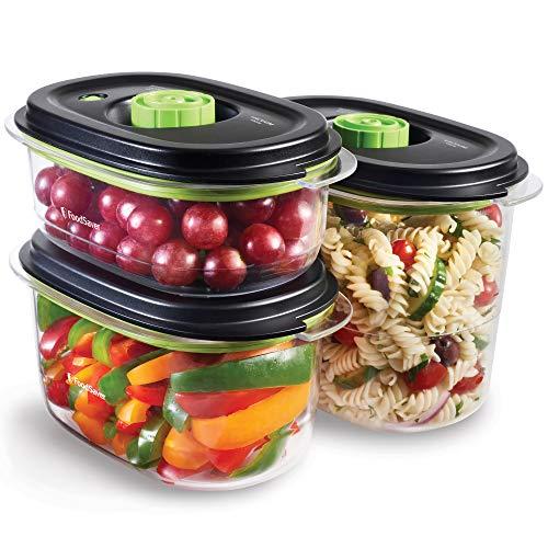 FoodSaver Recipiente para conservar y marinar al vacío, Hermético, Libre de BPA, A...