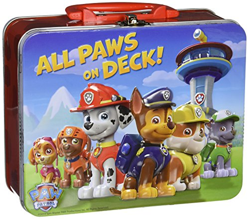 Paw Patrol Puzzle in Tin Box [24 Pieces]