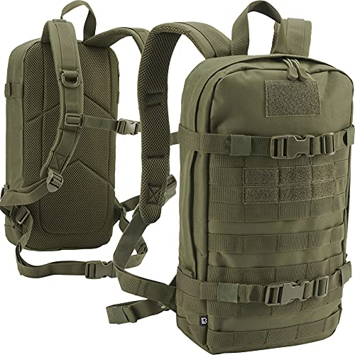 Brandit US ASSAULT DAY PACK RUCKSACK 12L ARMEE OUTDOOR TASCHE MOLLE ARMY BW KAMPF COOPER, Farbe:Oliv